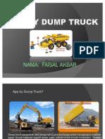 Alat Berat - Dump Truck
