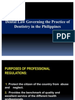 Dental Law in the Philippines Presentation Final