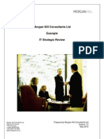 IT Strategic Review example TOC