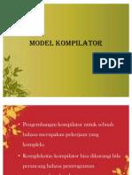 Model Kompilator