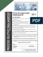 Caderno de Prova Escolas Tecnicas Subsequente(1)