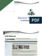 20110512 Alumni Portal