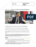 Press Clipping Prensa Digital - Acto Plataforma Blanca 2011-06
