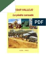 13707961 Cesar Vallejo La Piedra Cansada