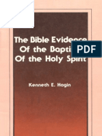 The Bible Evidence of the Baptism of the Holy Spirit