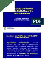 Avaliação de Perfil de Dissolução de medicamentos ANVISA