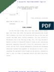 Document 140 - Final Judgment