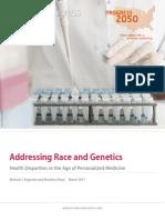 Addressing Race and Genetics