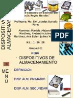 DISPOSITIVO DE ALMACENAMIENTO