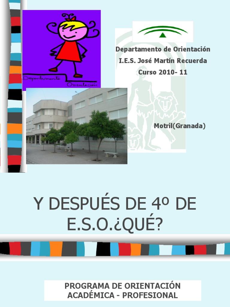 4ºeso2010 Padres Educación Secundaria Ingeniería