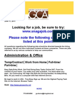GCA #2- Job Hot List