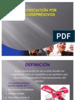 INTOXICACion por psicodepresivo diapositiva de estudio
