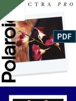 Manuel Polaroid Spectra Pro