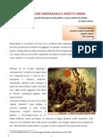 Emancipazione individuale e diritti umani (di Claudia Giannini)