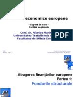 6a Politica Regional A- Fondurile Structurale