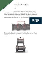Arti Dan Kode Rantai Motor