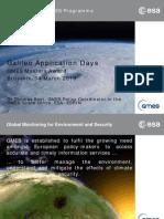 Gmes Award at Galileo Application Days