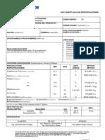 Especificaciones Fosfato Monoamónico 12-61-0 (01-19-10) 501