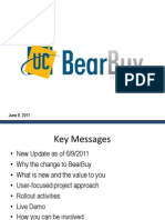 UCSF BearBuy Town Hall Presentation - June 2011