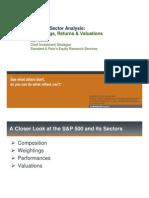 SP 500 Sector Analysis SP Presentation External Oct10