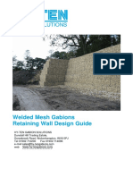 Gabion Retaining Wall Design Guide