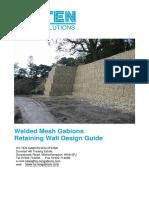 Gabion Design Manual 15 1 10 Nature
