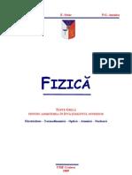Teste_Grila_Fizica_2009 Electricitate – Termodinamică – Optică – Atomică – Nucleară
