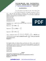 Prova Resolvida - Banco Do Brasil 2010