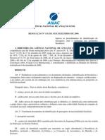 resolucao 130 - Procedimentos de identificação de passageiros, para embarque em aeroportos brasileiros