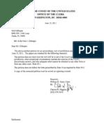 Rule 22 Application, Justice Clarence Thomas, SCOTUS (Corrected), Jun-11-2011