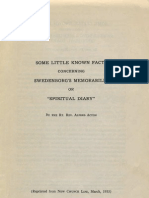 Alfred Acton SWEDENBORG's MEMORABILIA Some Little Known Facts New Church Life March 1953