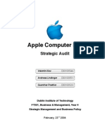 Apple Strategic Audit