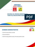Viziunea USL Privind Ad Mini Strati A Publica Si Dezvoltarea Regionala