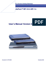 MP 1xx SIP Users Manual Ver 5 0