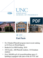 UNC Eshelman School of Pharmacy Highlights