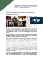 RUEDA DE PRENSA[1][1]  DOSSIER