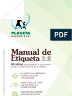 Manual Etiqueta Sustentável