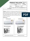 Product_bulliten of Esterella -R410A