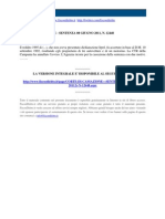 Corte Di Cassazione n 12448 2011
