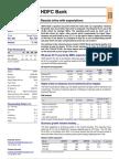 Hdfc Bank q4fy08 Result Update