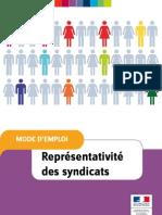 Representation Des Syndicats 22-01-09