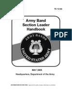 Army Band Section Leader Handbook