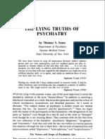 5620811 the Lying Truths of PsychiatryT SZASZ