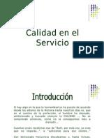 Calidad en El Servicio1
