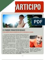 Boletin Comunidad - Parque Forastieri - 13 Junio 2011