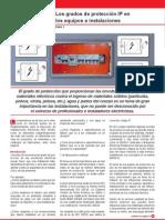 Los grados de protección IP en los equipos e instalaciones I