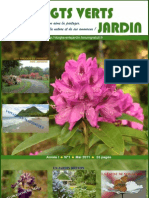Magasine de Jardinage Doigts Verts Jardin, Numero 1