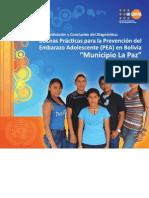 Buenas prácticas prevencion embarazo adolescentes La Paz Bolivia