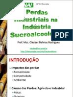 perdas industriais na indústria Sucroalcooleira 15set10 CAARAPÓ