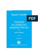 Tratado de derecho administrativo T. 1 - Agustín Gordillo